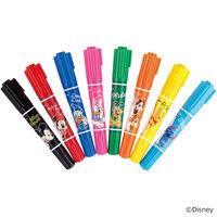 紙用マッキー 太字/細字 ディズニー 8色セット WYT18-DS2-8C 水性ペン ゼブラ