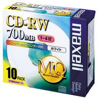 日立マクセル CD-RW700MB 5mmプラケース CDRW80PW.S1P10S 1パック(10枚入)