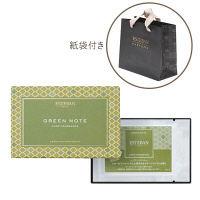 <LOHACO> エステバン カードフレグランス グリーンノート 5枚入 + 紙袋付きセット 日本香堂画像