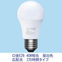 アイリスオーヤマ LED電球 E26 広配光 40W相当 2万時間タイプ 昼白色 LDA4N-G-4A12