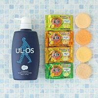 UL・OS(ウル・オス)  薬用スカルプシャンプー 500ml + 温泡 4個 セット 大塚製薬