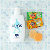 UL・OS(ウル・オス) 薬用スキンウォッシュ ポンプ 500g +温泡2個セット 大塚製薬