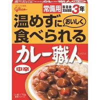 グリコ 常備用カレー職人中辛 3食