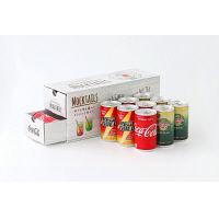 【LOHACO限定】コカ・コーラ モクテル パーティーセット レシピBOX 1セット(コーラ×3缶・ジンジャーエール×4缶・リアルゴールド×3缶)