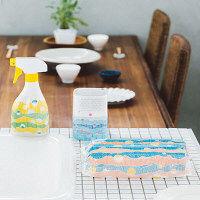 【メーカーコラボセット】消臭力クリアビーズイオン消臭プラス +キッチン用アルコール除菌スプレー+エリエールラクらクックキッチンペーパー(3パック)