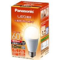 パナソニック LED電球E26広配光タイプ60形電球色 LDA7LGEWの画像