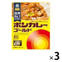 ボンカレーゴールド 甘口 1セット(3食入) 大塚食品