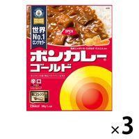 ボンカレーゴールド 辛口 1セット(3食入) 大塚食品