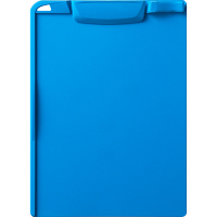 アスクル バインダー クリップボード A4タテ ブルー 青 5枚