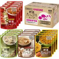 <LOHACO> インスタント 野菜たっぷりスープ 4種×4袋セット SO-50 7078 1ケース(16個入) KAGOME(カゴメ)画像