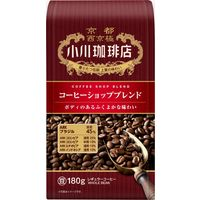 【コーヒー豆】小川珈琲店 コーヒーショップブレンド 1袋(180g)