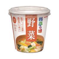カップみそ汁料亭の味 野菜 1食