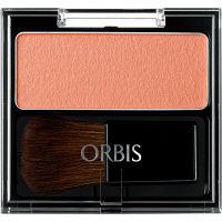 ORBIS(オルビス) ナチュラルフィットチーク(ケース入り、ブラシ1本付) コーラル