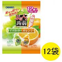 ぷるんと蒟蒻ゼリーマスカットオレンジ12