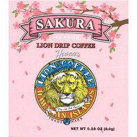 【ドリップコーヒー】ライオンドリップコーヒー サクラ 8g 1箱(10袋入) Heritage Japan