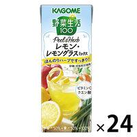 野菜生活 100 Peel&Herb レモン・レモングラスミックス 200ml 1箱(24本)