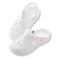 富士ゴムナース ソフトサンダル 590-1 ホワイト XXS(22.0〜22.5cm) ナースシューズ 1足(直送品)