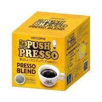 キーコーヒー PUSH PRESSO(押すプレッソ)プレッソブレンド 1箱(10袋入)