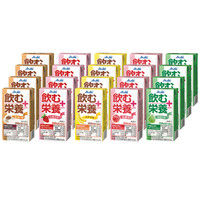 アサヒグループ食品 飲む栄養プラス5種20本セット 1箱(20本入)
