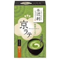 辻利 京ラテ抹茶&ミルク10本入