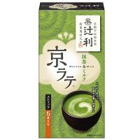 辻利 京ラテ 抹茶&ミルク 5本
