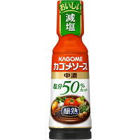 カゴメ 醸熟ソース塩分50%カット中濃180ml