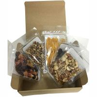 みやさか食品 AS トライアルミックス (ミックスナッツ70g、生くるみ70g、ミックスフルーツ80g、セブ島マンゴー50g、クランベリーホール60g)1セット