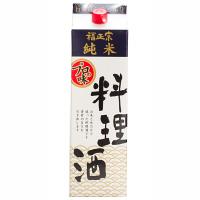 【福光屋】福正宗 料理酒(純米) 1.8Lパック