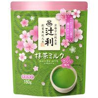 辻利 抹茶ミルク さくら風味 180g×2