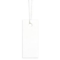 タカ印 スーパー提札 ミルキーホワイト 19-857 1箱(100枚入×5袋) (取寄品)