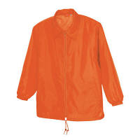 アイトス 裏メッシュジャケット(男女兼用) オレンジ M AZ50101-063-M (直送品)