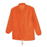 アイトス 裏メッシュジャケット(男女兼用) オレンジ EL AZ50101-063-EL (直送品)