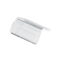 アクリル製 カード立 山型 34-1056 1箱(10個入×5袋) (取寄品) ササガワ
