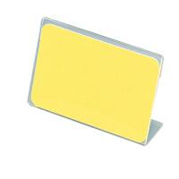 アクリル製 カード立 片面用(L型) 34-3014 1箱(10個入×2袋) (取寄品) ササガワ