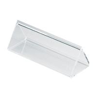 アクリル製 カード立 三角型 34-615 1箱(5個入×4袋) (取寄品) ササガワ