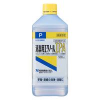 消毒用エタノールIPA 500mL スプレーなし 1本 1177 健栄製薬