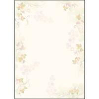 タカ印 デザインペーパーフラール レザン 4-3012 1袋(10枚袋入×5冊) (取寄品)