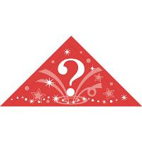 タカ印 三角くじ 機械貼(?)2等 5-552 1袋(24片袋入×10冊) (取寄品)