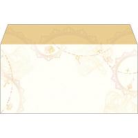 タカ印 商品券袋 横封式 アンティーク 9-372 1箱(100枚入) (取寄品)