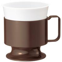 サンナップ インサートカップホルダーライト ブラウン 1袋(5個入)