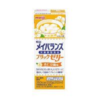 明治 メイバランスブリックゼリー 杏仁豆腐味 1箱(24個入)(取寄品)
