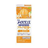 明治 メイバランスブリックゼリー みかん味 1箱(24個入)(取寄品)