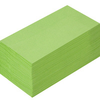 溝端紙工印刷 カラーナプキン 8つ折り 2PLY グリーンティー 1袋(50枚入)