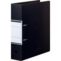 レバー式ファイル A4縦 背幅66 黒