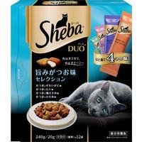 シーバデュオ 旨みがつお味セレクション 240g 1セット(4個入)