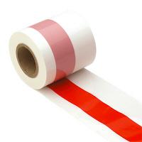 タカ印 紅白テープ 50m巻 40-3081 (取寄品)