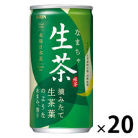 キリンビバレッジ 生茶 185g 1箱(20缶入)