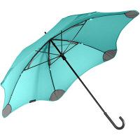 【在庫一掃セール】ブラント ライト (サード ジェネレーション) カーブハンドル 長傘 手開き ミント 6本骨 58cm 台風傘 A1445-61