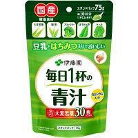伊藤園 毎日1杯の青汁 (粉末タイプ) 有糖 75g