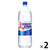アサヒ飲料 三ツ矢サイダーゼロストロング 1.5L 1セット(2本)